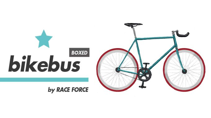Bike bus by Raceforce logo