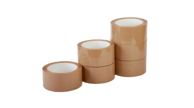 Packing tape for storage boxes