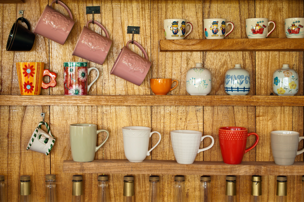 Storing crockery for space in your home