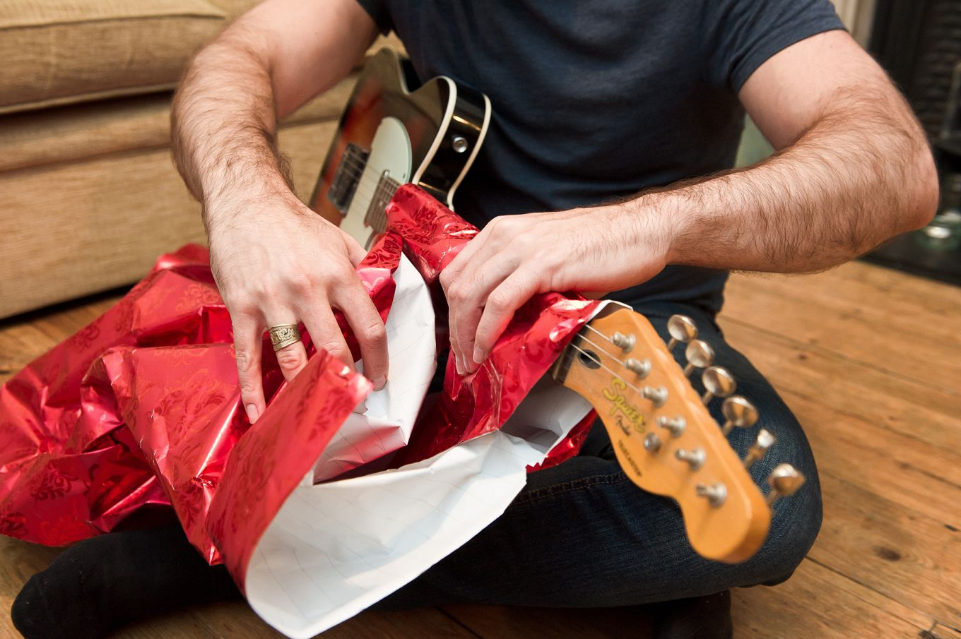 Unwrapping musical instrument