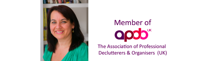 Association of Professional Declutterers and Organisers logo