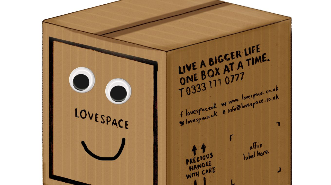LOVESPACE Boxy illustration