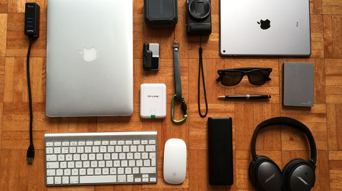 The essentials for a travelling digital nomad