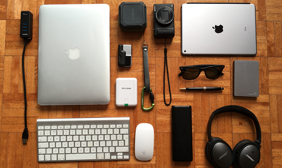 Travel essentials for a 'digital nomad'