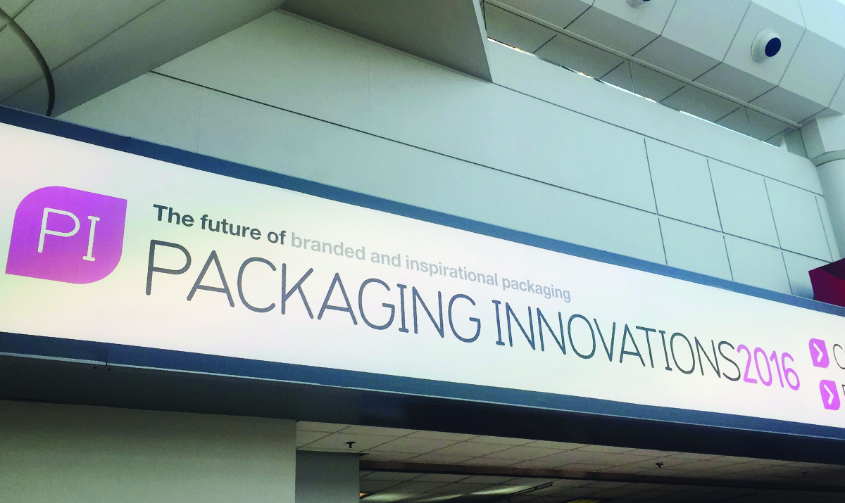 Packaging Innovations 2016 advertisement