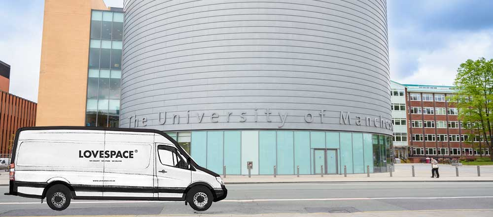 Manchester university storage for students