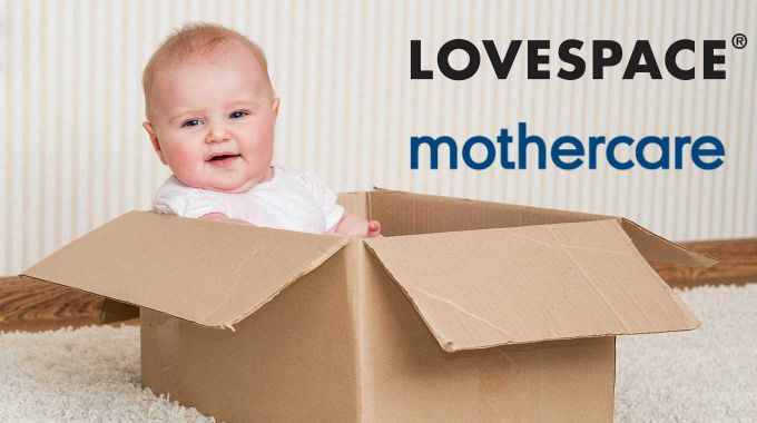 Lovespace Mothercare partnership
