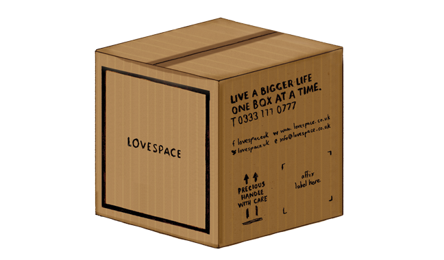 Lovespace storage box