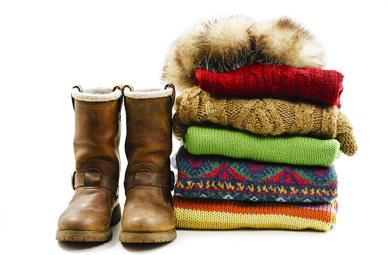 Winter clothes clear out to organise your wardrobe