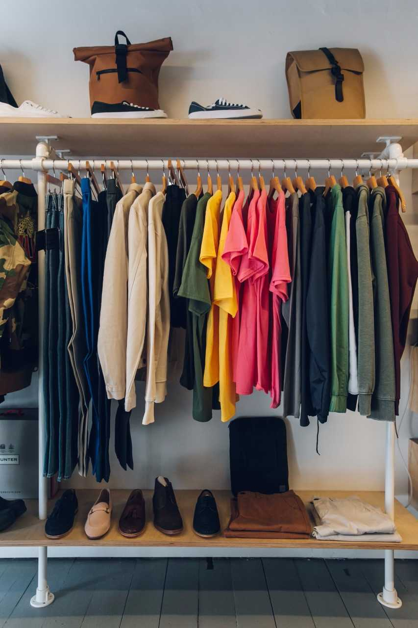 near and tidy inspiration to organise your wardrobe