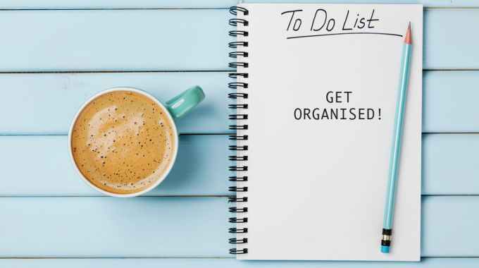 GET ORGANISED TO DO LIST
